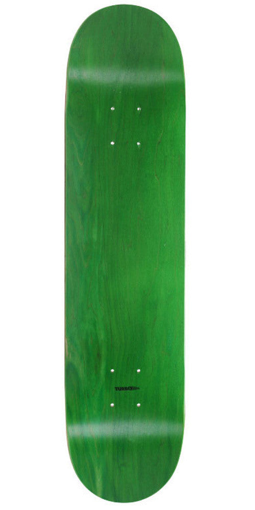 Action Village - Green Stained Blank - 7.5 - Skateboard Deck