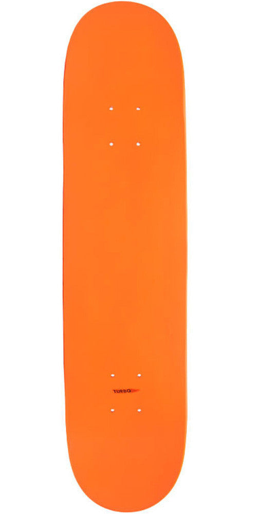 Action Village - Orange Blank Deck - 7.5 - Skateboard Deck