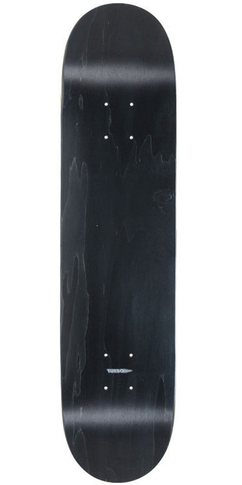 Action Village - Black Stained Blank Deck - 7.75 - Skateboard Deck