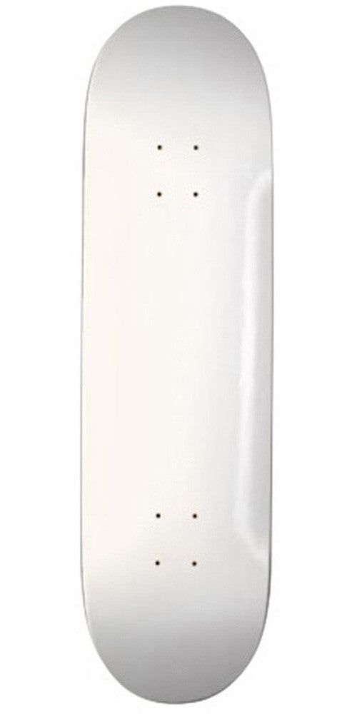 Action Village - Blank White Dipped - 8.5 - Skateboard Deck
