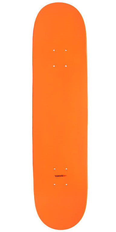 Action Village - Blank Orange Dipped - 8.0 - Skateboard Deck