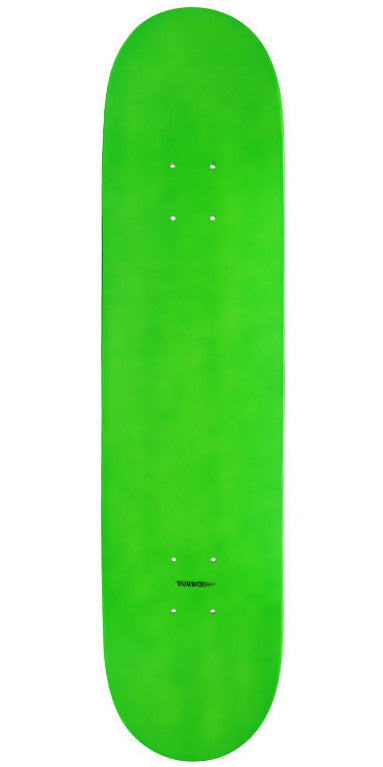 Action Village - Blank Neon Green Dipped - 8.25 - Skateboard Deck