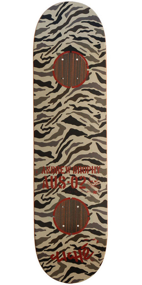 Cliche Camo Impact Brophy - Brown Camo - 8.25 - Skateboard Deck