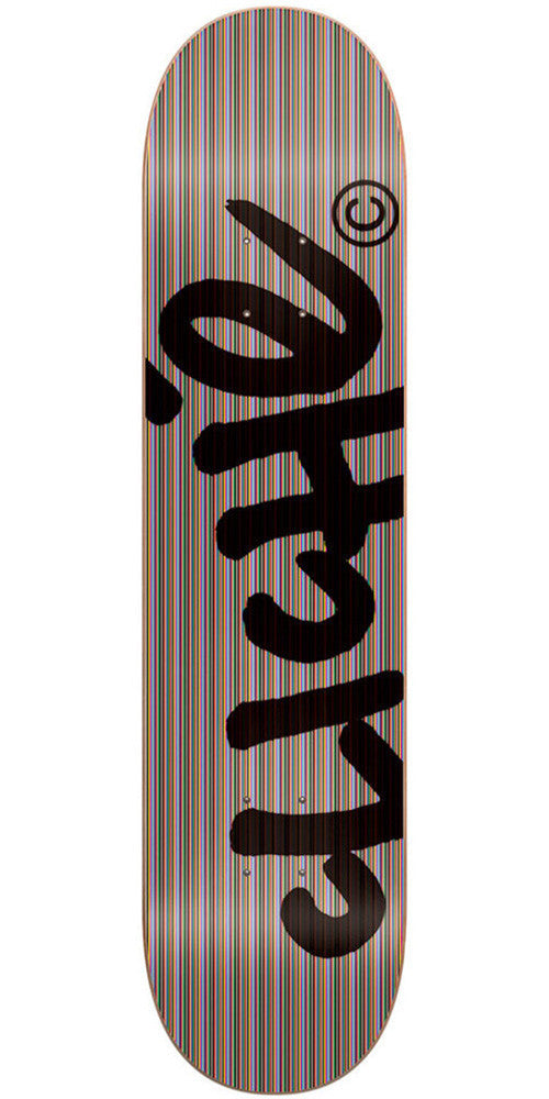Cliche Handwritten Vply Branded - Multi - 8.125in - Skateboard Deck
