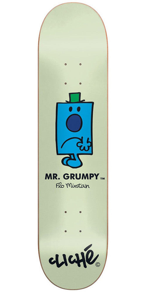 Cliche Flo Mirtain Mr. Men R7 - Green - 8.25in - Skateboard Deck