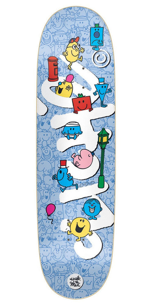 Cliche Mr. Men Team Directional R7 - Multi - 8.625in - Skateboard Deck
