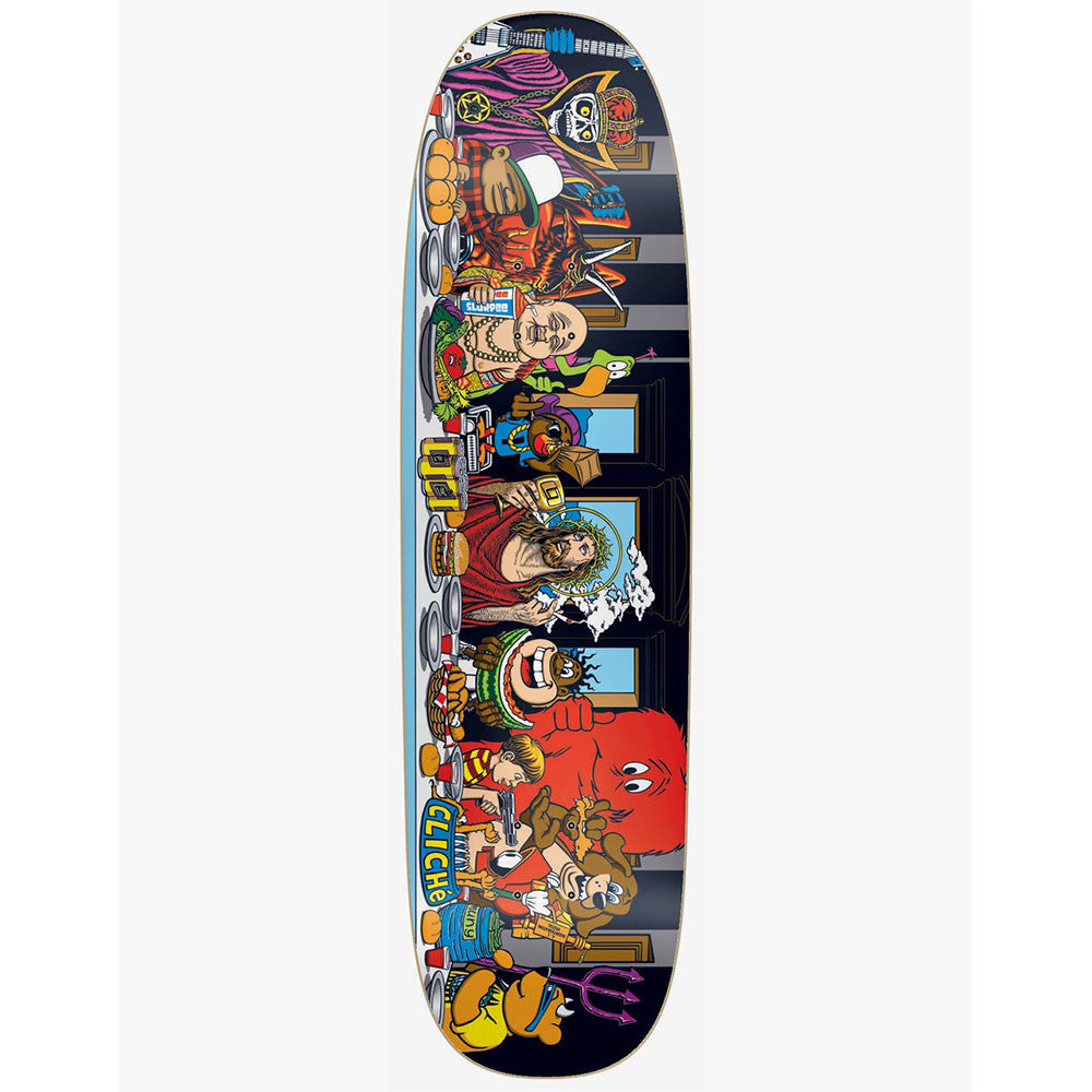 Cliche Screenprinted Last Supper - Multi - 8.75in - Skateboard Deck