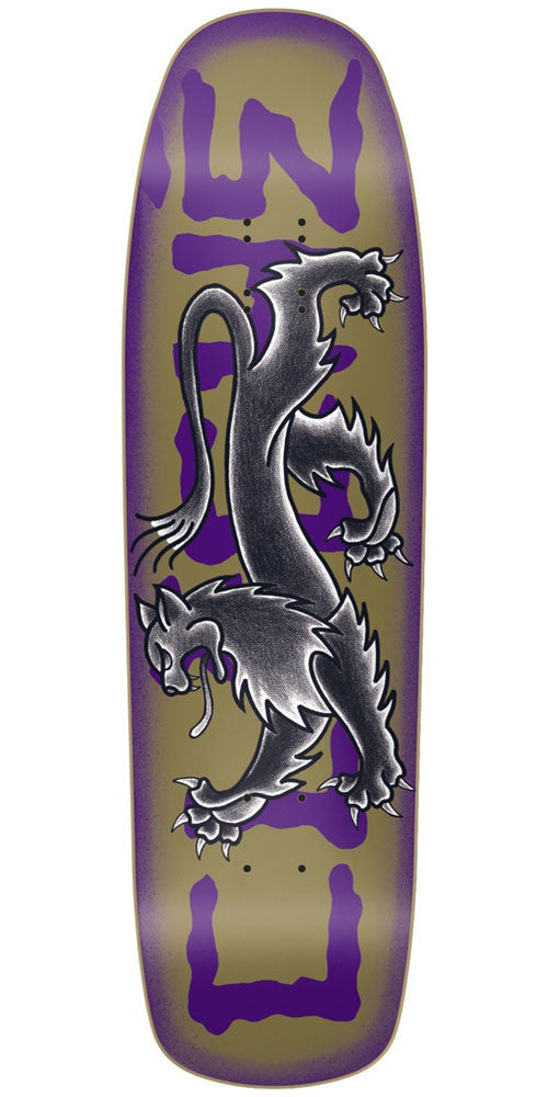 Cliche Lyon By Dressen R7 - Violet - 9.0in - Skateboard Deck