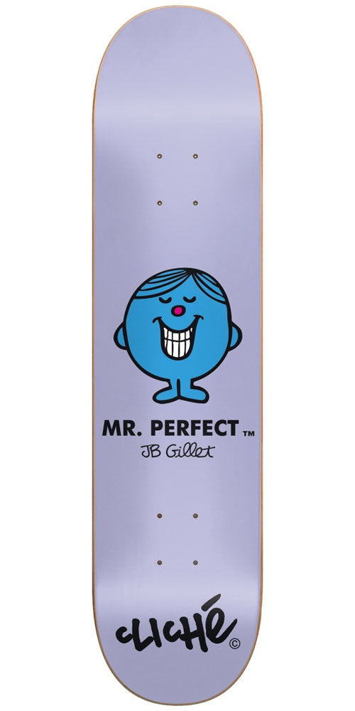 Cliche JB Gillet Mr. Men R7 - Purple - 8.0in - Skateboard Deck