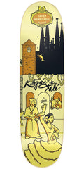 Cliche Javier Mendizabal Street Series R7 - Yellow - 8.625in - Skateboard Deck