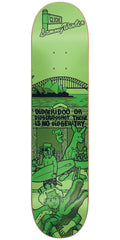 Cliche Sammy Winter Street Series R7 - Green - 8.0in - Skateboard Deck