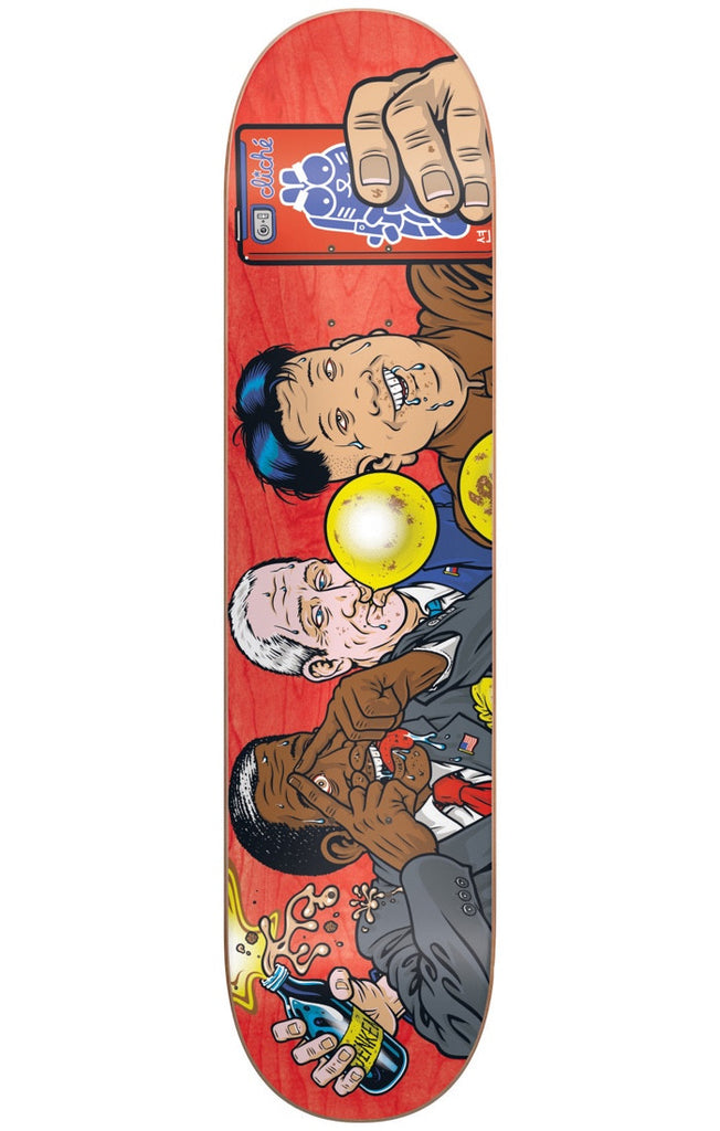 Cliche Jenkem R7 - Multi - 8.375in - Skateboard Deck