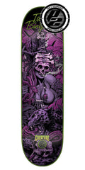 Creature Bingaman Predator P2 - Black/Purple - 8.375in x 32.0in - Skateboard Deck