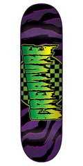 Creature Go Home MD - Purple - 31.7in x 7.9in - Skateboard Deck