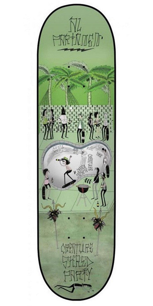 Creature Shred Party Partanen - Green - 8.2in - Skateboard Deck