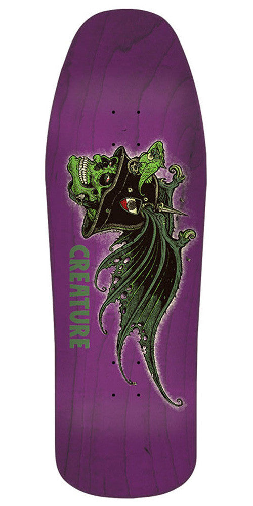 Creature The Nonconformist - Purple - 31.3in x 10.0in - Skateboard Deck