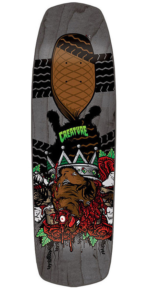 Creature Roadkill Kings - Black - 32.31in x 8.96in - Skateboard Deck