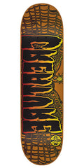 Creature Ass Backwards GL - Orange - 32.5in x 8.8in - Skateboard Deck