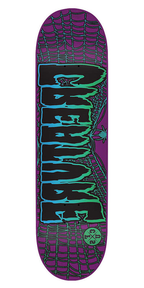 Creature Ass Backwards MS - Purple - 31.6in x 8.2in - Skateboard Deck