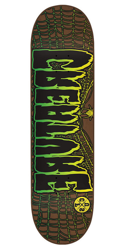 Creature Ass Backwards DM - Brown - 32.0in x 8.375in - Skateboard Deck