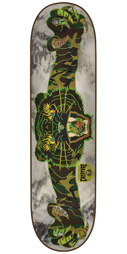 Creature Partanen Venom Stitches Pro - Camo - 31.9in x 8.2in - Skateboard Deck
