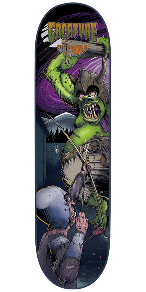 Creature Graham Ogre1 Pro - Multi - 32.57in x 8.8in - Skateboard Deck