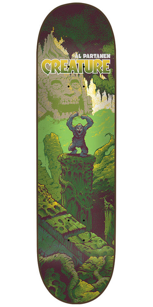 Creature Partanen Primitive Pro - Multi - 31.9in x 8.2in - Skateboard Deck