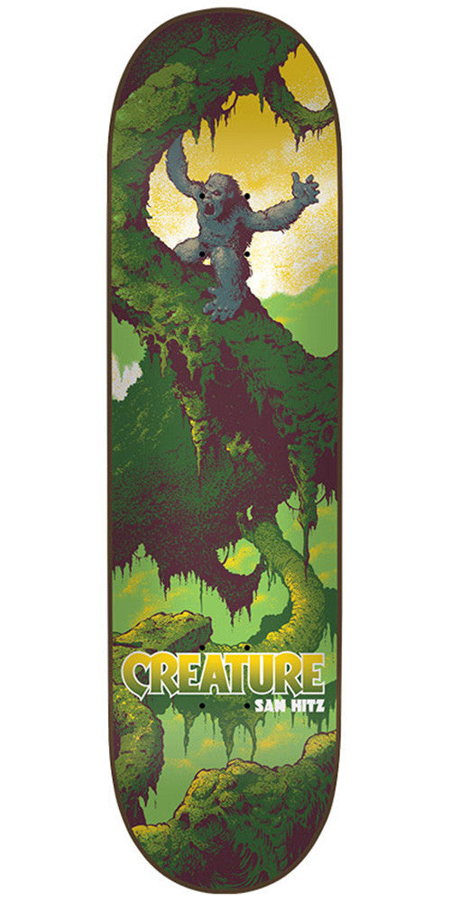 Creature Hitz Primitive Pro - Multi - 31.7in x 8.26in - Skateboard Deck
