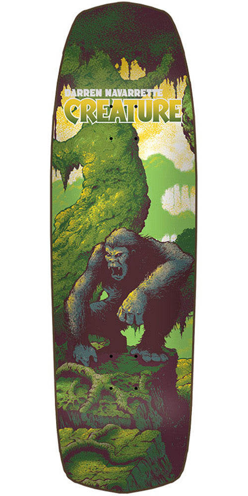 Creature Navarrette Primitive Pro - Multi - 32.3in x 8.8in - Skateboard Deck