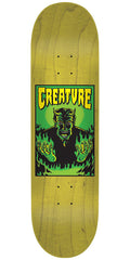 Creature Hell SM Team - Yellow - 31.9in x 8.2in - Skateboard Deck