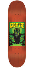 Creature Hell MD Team - Orange - 32.35in x 8.6in - Skateboard Deck