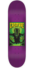 Creature Hell LG Team - Purple - 32.5in x 8.8in - Skateboard Deck