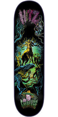 Creature Hitz Rut of the Stag Pro - Black - 32.3in x 8.6in - Skateboard Deck