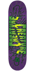 Creature EvilLive Reanimator SM Team - Purple - 31.8in x 8.2in - Skateboard Deck