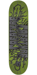 Creature EvilLive Reanimator LG Team - Green - 32.5in x 8.8in - Skateboard Deck