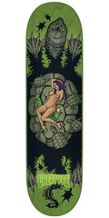 Creature Creek Freaks Team - Green - 8.6in x 32.35in - Skateboard Deck