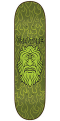 Creature Cyclops Resurrection Team - Green - 8.375in x 32in - Skateboard Deck