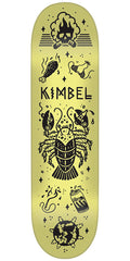 Creature Kimbel Tanked Pro - Yellow - 9in x 33in - Skateboard Deck