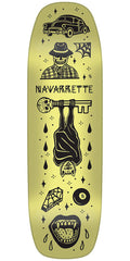 Creature Navarrette Tanked Pro - Yellow - 8.8in x 32.57in - Skateboard Deck