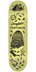 Creature Partanen Tanked Pro - Yellow - 8.3in x 32.2in - Skateboard Deck