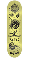 Creature Reyes Tanked Pro - Yellow - 8.0in x 31.6in - Skateboard Deck