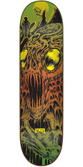 Creature Kimbel Deep One - Orange/Green - 9.0in x 33.0in - Skateboard Deck