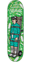 Creature Navarrette Psych Ward - Green - 8.8in x 32.5in - Skateboard Deck