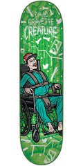 Creature Gravette Psych Ward - Green - 8.25in x 32.04in - Skateboard Deck