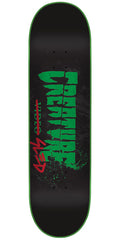 Creature The Creature Sled - Black - 8.6in x 32.11in - Skateboard Deck