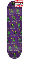 Creature Beezlebub SM Hard Rock Maple - Purple - 8.0in x 31.6in - Skateboard Deck