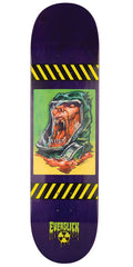 Creature Fallout Patch Everslick - Purple - 8.375in x 32.0in - Skateboard Deck
