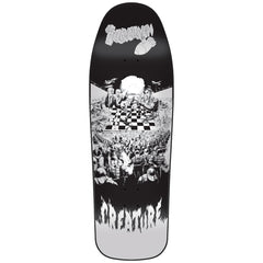 Creature Partanen Chess Board LG - Black/White - 9.75in x 31.86in - Skateboard Deck
