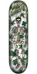 Creature Gravette Medicinal Use - White - 8.5in x 32.25in - Skateboard Deck