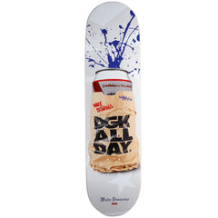 DGK Desarmo Spray Cans - White - 8.1in - Skateboard Deck
